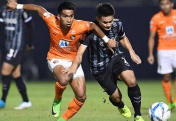 ไฮไลท์ฟุตบอล ราชบุรี มิตรผล 1-1 เมืองทอง ยูไนเต็ด