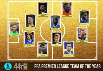 ซลาตัน หลุด แบโผ ทีมยอดเยี่ยม PFA 2016-17
