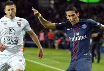 ไฮไลท์ฟุตบอล ปารีส แซงต์ แชร์กแมง 1-1 ก็อง