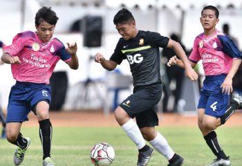 บีจียู 13 ฟอร์มโหด อัดนนทบุรี 6-1 เปิด PM CUP