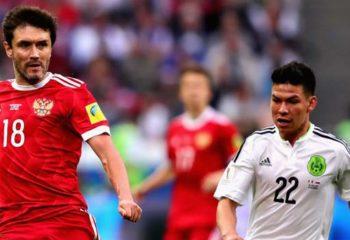 ไฮไลท์ฟุตบอล รัสเซีย 1-2 เม็กซิโก