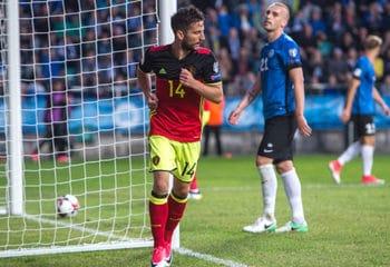 ไฮไลท์ฟุตบอล เอสโตเนีย 0-2 เบลเยี่ยม
