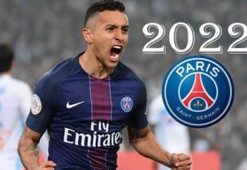 """เปแอสเชได้ขยายสัญญาฉบับใหม่ให้กับ """"มาร์ควินญอส"""" ออกไปถึงปี 2022"""