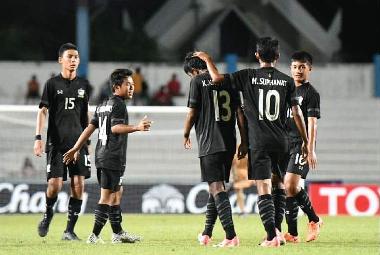ไทย U15 2 – 0 สิงคโปร์