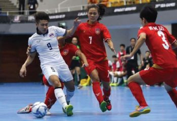 ฟุตซอลหญิงไทย ชนะเมียนมา 10-2 ซิวชัยซีเกมส์