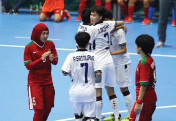 ฟุตซอลหญิง ทีมชาติไทย ไล่เจ๊าอินโดนีเซีย 2-2