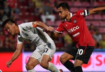ไฮไลท์ฟุตบอล เอสซีจี เมืองทอง 3-0 ราชบุรี มิตรผล