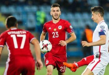 ไฮไลท์ฟุตบอล อาร์เมเนีย 1-6 โปแลนด์