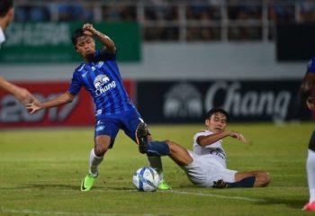 ไฮไลท์ฟุตบอล ชลบุรี เอฟซี 1-1 บุรีรัมย์ ยูไนเต็ด