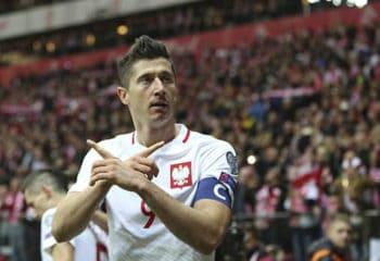 โปแลนด์ เปิดบ้านอัด มอนเตฯ 4-2 คว้าแชมป์กลุ่มลุยบอลโลกที่รัสเซีย