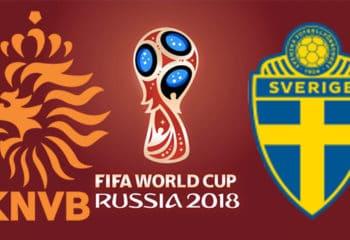 วิเคราะห์บอลคืนนี้ SBOBET ฟุตบอลโลก 2018 เนเธอร์แลนด์ – สวีเดน