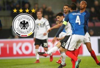 เยอรมัน ตีเสมอนาทีท้าย เปิดรังเจ๊า ฝรั่งเศส สุดมันส์ 2-2 เกมกระชับมิตร
