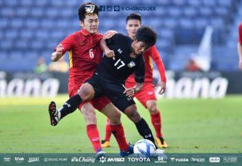 ทีมชาติไทย U23 ไล่ไม่ทัน พ่ายเวียดนาม 1-2 คว้าที่ 4 M-150 Cup