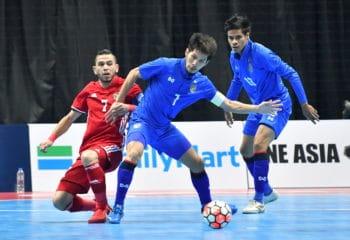 ฟุตซอลทีมชาติไทย ถล่ม จอร์แดน 5-1 ประเดิมชิงแชมป์เอเชีย