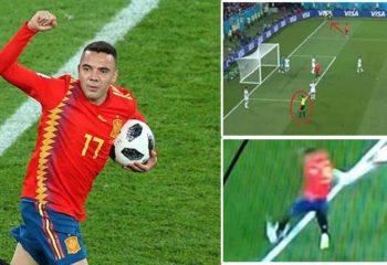 ได้เหรอ กุนซือ โมร็อกโก สงสัย สเปน เตะมุมอีกฝั่งบอลออกอีกฝั่ง